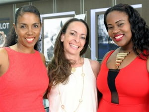 Left to Right: Honey Jam and Honey Jazz producer Ebonnie Rowe, Michal Hassid of Diamonds International, and vocalist Lyn'L Lynch - Broadway to Barbados Show will feature local artist for the first time!