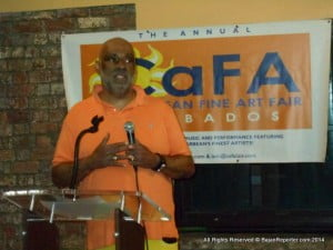 Renowned American artist and cultural entrepreneur Danny Simmons hosted the 4th Edition of Caribbean Fine Art (CaFA) Fair