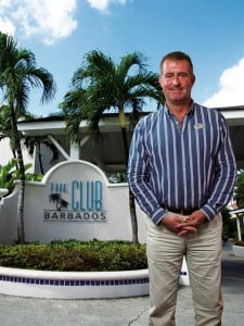 Joerg Roterberg, Vice President of Operations at The Club Resort and Spa, Barbados.