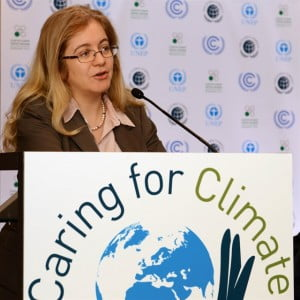Ms. Cheikhrouhou was appointed as the first Executive Director of the Green Climate Fund in June, 2013. The GCF was established to channel support to developing countries to help limit or reduce their greenhouse gas emissions, and to adapt to the unavoidable impacts of climate change.