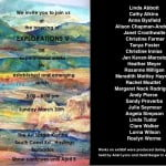 Sunday 30th March 5-8 pm at ArtSplash... art, wine, food! See you there! (CLICK FOR BIGGER)