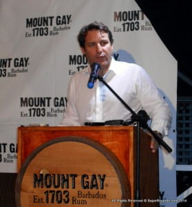 In response, Raphael Grisoni, Managing Director of Mount Gay Distilleries Limited, said there is a historical and supply relationship between The Rum Refinery of Mount Gay Limited, and Mount Gay Distilleries Limited itself. He explained that both companies have facilities located at Mount Gay in St. Lucy but are two separate and distinct entities.
