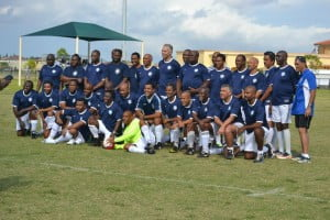 Jamaica College Over-40 team