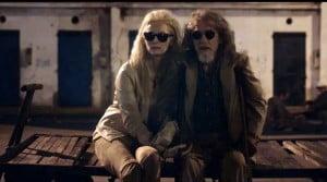 (SCREENSHOT FROM VIDEO) Director: Jim Jarmusch Starring: Tom Hiddleston, Tilda Swinton, Mia Wasikowska