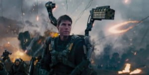 """{IMAGE VIA - primissima.it} Directed by Doug Liman Starring Tom Cruise, Emily Blunt Release Date : In Theaters June 6th, 2014 """"Live Die Repeat."""" http://www.edgeoftomorrowmovie.com/"""