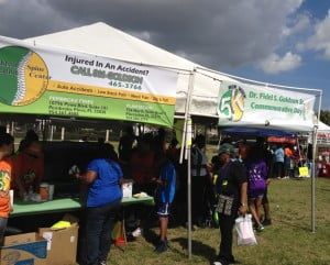 """It seems only fitting that Goldson Spine Rehabilitation Center should join in and sponsor The True Blue weekend. Any opportunity for friends & family to gather together celebrating things Jamaican is always welcomed. We are honored to be a part of True Blue."" said Marcelle B. Jones, Director of Marketing, Goldson Spine Rehabilitation Center."