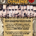 GoT Valar Dohaeris Burger Challenge
