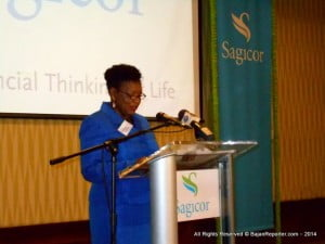 """As a regional company established here in Barbados over 170 years ago Sagicor Life Inc has contributed to the changing landscape of health and wellness. We are committed to developments which enhance the long-term quality of life in communities in which we operate and we show that through events such as this."""