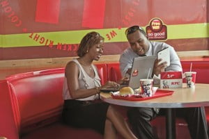 {IMAGE VIA - Red Advertising: KFC's WiFi Service} The plans to forge ahead are timely given the recently shared findings of PWC Int'l and should reassure Barbadians that our business community is up to speed with global trends and new ways of thinking.  The success of the free Wi-Fi campaign, which was organic in its rollout has so significantly changed the landscape that most people don't remember a time when access was not as prevalent.