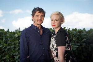 Gwendoline Christie (right) returns as a series regular, and Pedro Pascal (left) forms part of the new storyline. Game of Thrones has been confirmed for a fifth and sixth season.