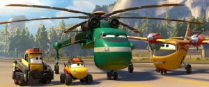 "(VIDEO SCREENSHOT) Planes: Fire & Rescue"" is a new comedy-adventure about second chances, featuring a dynamic crew of elite firefighting aircraft devoted to protecting historic Piston Peak National Park from a raging wildfire"
