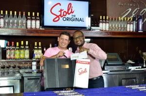 Stephan won $500.00 US dollars as well as a bar kit worth $400.00 US dollars.