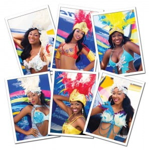 Contestants: Gabreann Capron, Codee Coalbrooke, Todeline Defralien, Tashy Forbes, Shanice Williams and Shante Williams Photo: Kazz Forbes Styling: Saint George Fashion House Costumes: Beaches TCI Resort Villages and Spa Makeup: Romaine Missick and Owenta Coleby - James Hair: Angela Coleby – Taylor