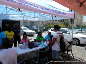 In celebration of World Telecommunications Day in Barbados, Columbus joined other local telecommunication providers at an exhibition which was hosted by the Telecommunications Unit, Division of Energy and Telecommunications. At the exhibit, which took place on Friday, May 16, in Hero's Square, Bridgetown, telecoms providers showcased interactive telecommunications and entertainment services, while persons visiting the booths were treated to a host of specials and giveaways.