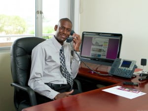 Adrian Beckles, MIS Manager of the Insurance Corporation of Barbados Limited (ICBL)