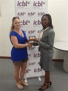 First place: Jennie Armstrong - won a Nokia Lumia 520