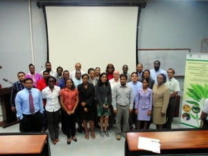 Participants of the Sensitization Seminar in Trinidad