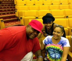 Lead vocalists Biggie Irie, Mahalia Cummins and Tamara Marshall