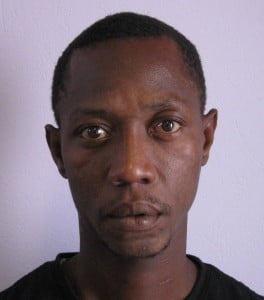 Ryan Omar Samuel, alias 'Rusty' or 'Sand Man', 33 years of Grape Hall, St Lucy.  He was captured during a Police operation in a St. Lucy community, on Friday night, 2 May 2014. They are both assisting with a major investigation.