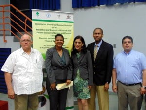Speakers at Tropical Race 4 (TR4) symposium