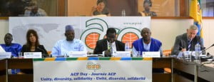 """ACP Day Seminar on """"The Challenges of Global Governance and the Emerging World Order: What role for the ACP-EU partnership?"""" {IMAGE VIA - acp.int}"""