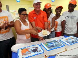 The celebrants capped off with a slice of cakes featuring highlights from this year's Rally!