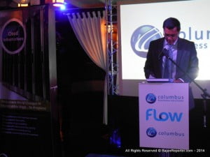 Jaggernauth Dass, vice president of CBS for the eastern caribbean Feature Address for CBS Launch, June 10, 2014