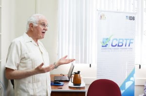 Training was conducted by Inter-American Development Bank (IDB) Consultant, Dr. Juan Prawda who has consulted on competency-based training projects throughout Asia and Latin America.