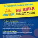 On July 5, 2014, The CFFB will be hosting its first Fundraising 5K walk going along the route that begins at ICBL on Roebuck Street and ending at Bay Street by the Esplanade.
