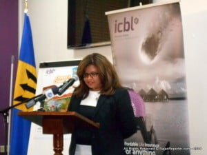 CEO Ingrid Innes in a mini conference after the gathering, informed media that despite financial challenges facing Barbados at the moment, she believes that better times are now peeking over the horizon. Mrs Innes sees recovery as not an external process but rather one where all Bajans must participate to restore growth and this was one of the underpinning ideas behind ICBL's latest alliance.