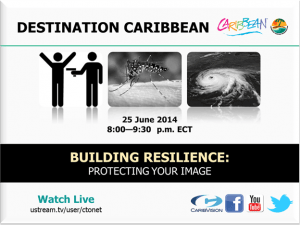 The programme runs live from 8:00 p.m. - 9:30 p.m. on the CMC's cable channel, Carib Vision.