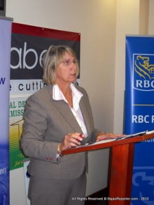 Chairperson of The Revitalisation of Bridgetown Initiative (TRBI) Mrs. Sharon Christie