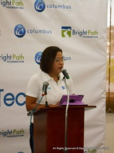 "Shelly Ann Hee Chung, vice president of marketing sales and communication, Eastern Caribbean stated that ""At Columbus, we live by one very simple yet powerful mission: 'Don't Predict the Future; Enable It'. We offer access to technology that has the potential to transform lives and entire communities, and we strive each day to continuously improve the services we offer our customers across the region."