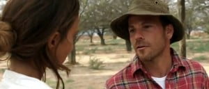 On a family trip in the African desert, a research scientist unintentionally travels off course and is brutally murdered by an arms dealer. His girlfriend is put to the ultimate survival test as she attempts to evade the killers and protect his teenage daughter. (VIDEO SCREENSHOT)