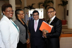 The Discussion, held at the Hilton Barbados Resort, focused on the fiscal and macro-economic policies employed by the Trinidad and Tobago Government to steer its economy through turbulent times, along with supporting regulatory and legislative improvements aimed towards improving the ease of doing business while instilling investor confidence.