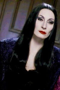 {IMAGE VIA -  pinterest.com} I just had to get in on the AnimeKon Charicature Files cosplay fun. I chose to do a personal favourite: the Iconic Morticia Addams.