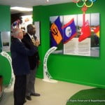 """""""It promises to be an exciting day,"""" says Dave Farmer, (seen here with PM Freundel Stuart indicating Museum attractions) Director, National Olympic Academy of Barbados, """"We recognise the important role that our Olympic Day celebrations in Barbados can play in the global effort to encourage people to be more physically active. Olympic Day is officially June 23rd but we are hosting our celebrations on Sunday, June 22 to allow for families and others to join us. This year we will be at Trent's Playing Field and we have numerous activities planned including a three-legged relay, the bucket brigade, lime & spoon and the traditional Olympic Day walk/run. It will be a fantastic demonstration of inclusion, cooperation and teamwork."""""""