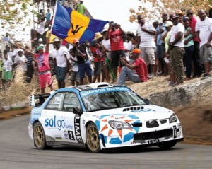 During the recent three-day Sol Rally Barbados, LIMELive provided more 7,000 online viewers - from countries as far afield as Albania, Serbia, and the United Arab Emirates - with live footage from the popular Hangman's Hill stage in St. Thomas and Bushy Park in St. Philip.