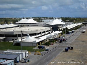{PERSONAL FILE IMAGE} Dupres arrived by air from Trinidad on Friday June 13th 2014 about 6.30 am.  A Police canine indicated on a suitcase from the flight which arrived from Trinidad.  The suitcase was searched by Customs in the presence Dupres and one package containing cannabis weighing 18 grammes was discovered and seized.