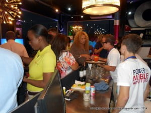 A hint of the slew of patrons at the launch of Digicel's latest innovation