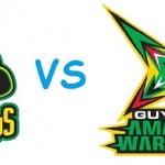 Guyana Amazon Warriors vs Jamaica Tallawahs crichotline co