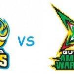 Guyana Amazon Warriors vs St Lucia Zouks crichotline