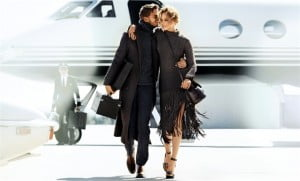 """Benjamin has the rugged elegance that perfectly captures the essence of the Michael Kors man,"" says Kors. The campaign imagery encompasses two scenarios. In one, Pedaru and Eidem were shot as a couple in a cinematic jet set arrival."