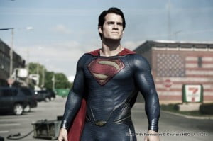 Directed by Zack Synder and produced by Christopher Nolan, the film's cast includes Henry Cavill as Clark Kent, Amy Adams as Lois Lane, Michael Shannon as General Zod, Russel Crowe as Jor-El, and Kevin Costner and Diane Lane as Jonathan and Martha Kent, among others.