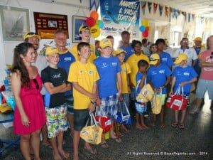 Making their debut, a Dinghy Class was created for Barbados' next generation of sailors and several young contenders took up this challenge. (CLICK FOR BIGGER)
