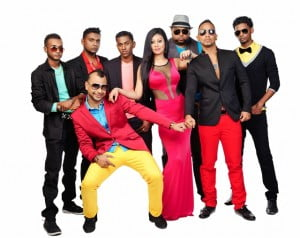 Additionally, (yellow pants) Ravi B; together with Nisha B, Gregory Ayuen and Karma are currently preparing to host the biggest Chutney Soca/ Bollywood Concert to be held at The York College of Performing Arts in New York City on Saturday 19th July, 2014. This concert type event will showcase the diversity of this powerhouse of entertainers and will be the first concert of its kind to be held at this venue.