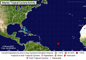 TROPICAL WEATHER OUTLOOK NWS NATIONAL HURRICANE CENTER MIAMI FL 800 PM EDT TUE JUL 29 2014