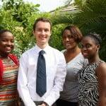 Chevening Scholarship winners with Martin Robinson
