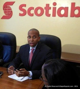 """""""We are very proud to have been recognized by Global Finance for the quality of our online banking and customer service in Barbados,"""" said Managing Director for Scotiabank Caribbean East, David Noel."""