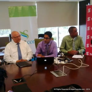 The Barbados Cancer Society and Sagicor Life Inc forge a strategic partnership for the Globe-athon Walk to End Women's Cancer. Dr. Vikash Chatrani, representing the organising committee of the local Globe-athon event invoked a heart-felt plea to the media about this event...